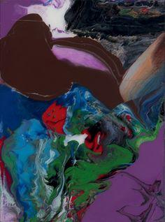 Gerhard Richter Aladin, 2010 Enamel on back of glass 37 x 50 cm each
