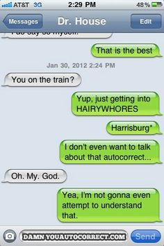 It's Colonial, Either Way - Damn You Auto Correct!