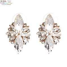 Like and Share if you want this  Crystal vintage korean Earrings     Tag a friend who would love this!     FREE Shipping Worldwide     Buy one here---> https://www.accessory.sg/4-colors-new-2017-fashion-hot-women-stud-earrings-crystal-vintage-korean-earrings-for-women-jewelry-wholesale/    #shoes