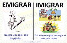 Emigrar e imigrar: sutil diferença. Mas agora você não confunde mais, né? Observação: A palavra migração significa o ato de se mover d...