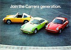 1974 Porsche Carrera Models