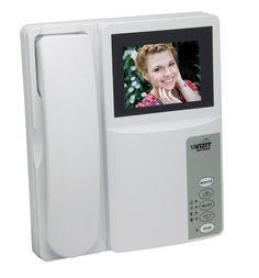 """Монитор видеодомофона VIZIT M404C M404C VIZIT-M404C - монитор 2-х канальный цветного изображения (PAL, 4"""") со встроенным блоком питания (160-240VAC); Возможность подключения: кнопки """"звонок"""" и электромеханического замка или защёлки триггерного типа. Индивидуальные вызывные сигналы для каждого блока вызова и кнопки """"звонок"""".Технические характеристики:тип экрана - цветной TFT LCD, 4""""; дуплексная связь; регулировка громкости вызова, яркости, насыщенности; работа с двумя блоками вызова…"""