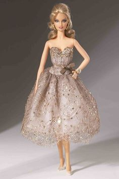 Barbie's designer fashion: from Dior to Burberry (Vogue.com UK) // By Judith Leiber