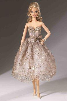 Barbie's designer fashion: from Dior to Burberry (Vogue.com UK) // By Judith Leiber