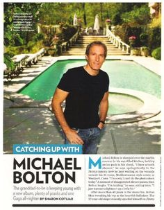 Bolton, Michael / Catching Up with Michael Bolton | Magazine Article + 3 Photos (2010), $2.00