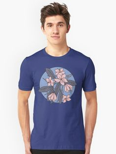 Sakura Unisex T-Shirt by @Olooriel on Redbubble #sakura #flower #tshirt #redbubble