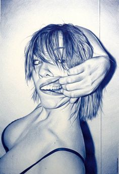 #pen realistic illustration! WTF, juan francisco casas!!!