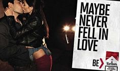 Marlboro marketing campaign aimed at young people, anti-tobacco report says History Of Tobacco, Anti Tobacco, Marlboro Cigarette, Never Fall In Love, Young People, Falling In Love, Campaign, Ads, Marketing