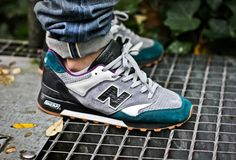 sweetsoles: New Balance 577 x LFSTL 'Kakkerlak' (by polo)
