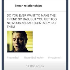 Hannibal looks genuinely depressed about this.