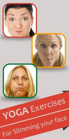 yoga poses : Here is a brief illustration on face exercises