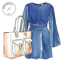 "Good Objects Illustration on Instagram: ""Good objects x @veromodaglobal - 70s look #goodobjects #illustration"""