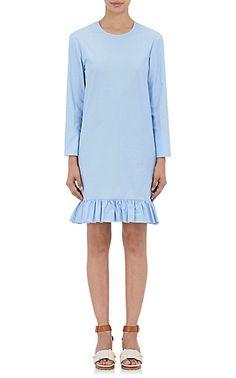We Adore: The Ruffled-Hem Long-Sleeve Dress from Marni at Barneys New York