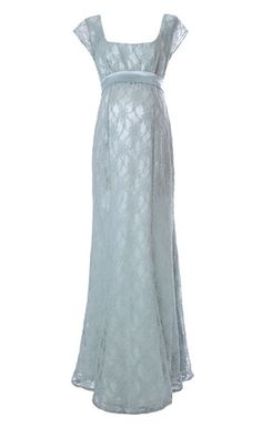 Eva Lace Maternity Gown (Glacier) - Maternity Wedding Dresses, Evening Wear and Party Clothes by Tiffany Rose