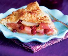 Autumn Fruit Pie by Fine Cooking