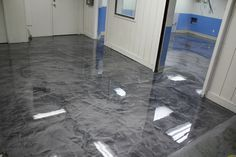 Pure Metallic - Metallic Epoxy Floor Coating Pictures - the best - . - Epoxy for all - Welcome Haar Design Concrete Art, Polished Concrete, Stained Concrete, Concrete Floors, Decorative Concrete, Home Design, Floor Design, Interior Design, Stylus