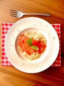 Rezept: Minimalistische Tomatensoße