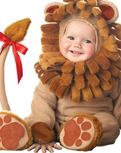 Infant Little Baby Lion Boys & Girls Toddler Jungle King Costume (6 months-2T) #InCharacter
