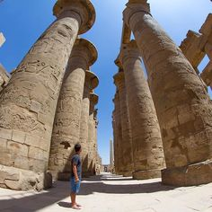So impressive how they were able to build such huge structures long time ago #thisisegypt @experienceegypt