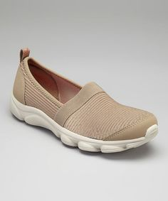 Take a look at this Taupe Reelfun Slip-On Sneaker by Easy Spirit on today! Vans Classic Slip On, Buy Now, Taupe, Take That, Spirit, Sneakers, Easy, Shoes, Style