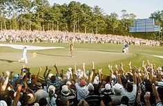 1998 Masters Golf Tournament...Mark O'Meara the winner over Fred Couples.