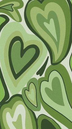 Hippie Wallpaper, Heart Wallpaper, Iphone Background Wallpaper, Aesthetic Iphone Wallpaper, Cool Wallpaper, Aesthetic Wallpapers, Wallpaper Quotes, Sage Green Wallpaper, Cute Patterns Wallpaper