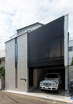 Facade, Home Appliances, Exterior, Cars, Architecture, Outdoor Decor, Modern, House, Home Decor