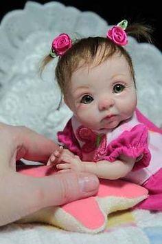 OOAK Baby Reborn Art Doll Polymer Clay by Svitlana