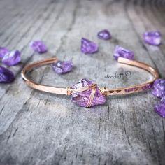 Hey, I found this really awesome Etsy listing at https://www.etsy.com/listing/238160788/rough-cut-amethyst-cuff-bracelet-raw