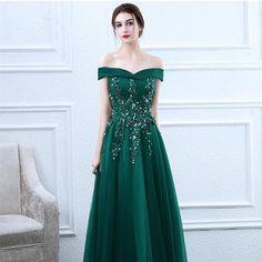 0aa6dbe57d9 Off Shoulder Emerald Prom Dress – The Dress Rail Boutique Emerald Prom Dress