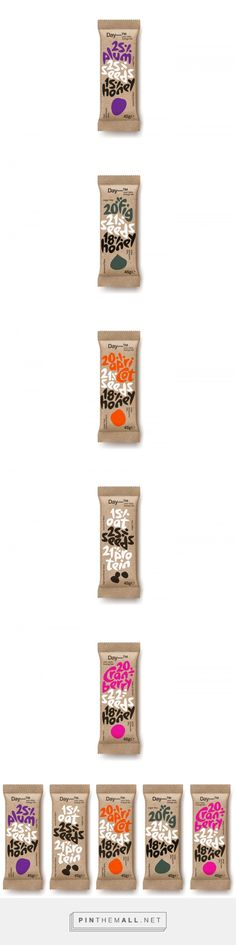Day_TM energy bar packaging design by Mousegraphics (Greece) - http://www.packagingoftheworld.com/2016/08/daytm.html