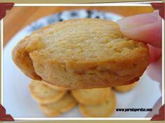 Galletas de mantequilla con vodka al caramelo  #recetas #reposteria #galletas #cookies