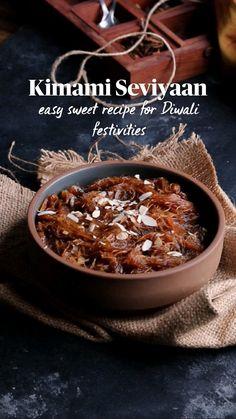 Easy Indian Recipes, Indian Dessert Recipes, Indian Snacks, Sweet Recipes, Snack Recipes, Cooking Recipes, Vegetarian Sweets, Diwali Food