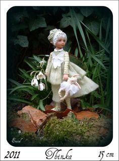 Авторские куклы. Кукольная скульптура Diane Guelinckx-Becker | Cовременное искусство | contemporary art