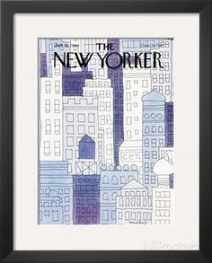 The New Yorker Cover - January 28, 1980 Framed Giclee Print by John Norment at AllPosters.com