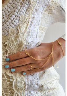 Double Ring Slave Bracelet