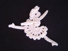 free crochet patterns: motif of princess odette in swan lake - crafts ideas - crafts for kids