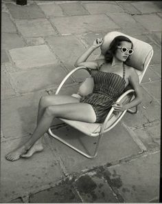 vintage sunbathing - Google Search