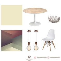 #moodboard sala de jantar.  #conceptboard #saladejantar #diningroomdecor