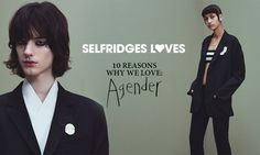"""Recently the UK department store Selfridges has come out with an in store and online promotion featuring agender styles. It plays on both feminine and masculine and unisex styles. It made me think of Butler's idea of gender as a performance how the idea of an agender style would fit into the binary of male and female performance. Butler in """"Imitation and Gender Insubordination"""" states that it is not possible to """"derive or read off a sexuality from any given gender presentation"""" (315)."""