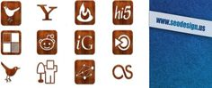 wooden-glossy-grunge-web-icons