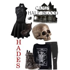 """Percy Jackson / Heroes of Olympus - Cabin 13 Hades"" by roishey on Polyvore"