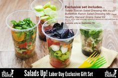 One day only! Salads Up! Gift Package