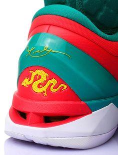 "Nike Zoom Kobe VII Supreme ""Year of the Dragon""."