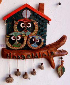 seramik-killieller Wall Decorations, Ceramic Art, Karma, Clock, Ceramics, Outdoor Decor, Animals, Home Decor, Pottery Designs
