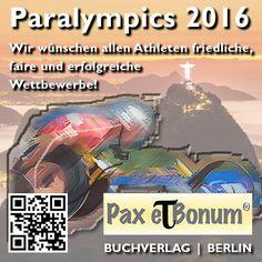 Paralympics 2016: Wir drücken die Daumen! Pax et Bonum