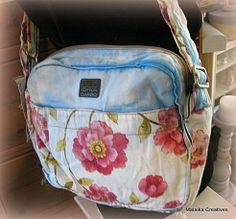 Old Cotton Cargo Bazaar schoudertas Omuz licht blauw | ♥ Old Cotton Cargo Handgemaakte tassen | Malaika Creatives