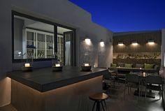 Les Amis bar restaurant Naoussa Paros