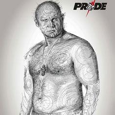 Fedor Emelianenko pride version #fedor #emelianenko #pridefc #ufc #mma #draw #legend