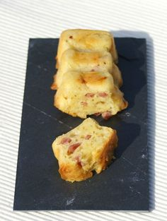 Bouch�es ap�ritives au bacon et parmesan